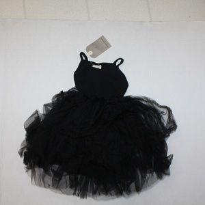 Dudu Cream Ballet Dance Tutu Black 12-18m